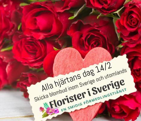 Florister i Sverige - beställ blomsterbud online
